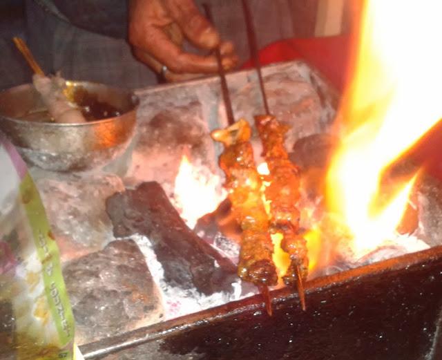 Tujj Kashmiri kababs Srinagar food