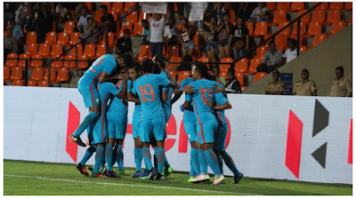 India 96th in FIFA rankings