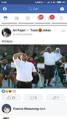 dark jokes - tangan buntung