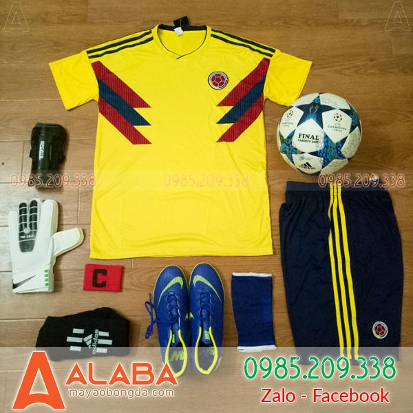 Áo bóng đá màu vàng đẹp và chất