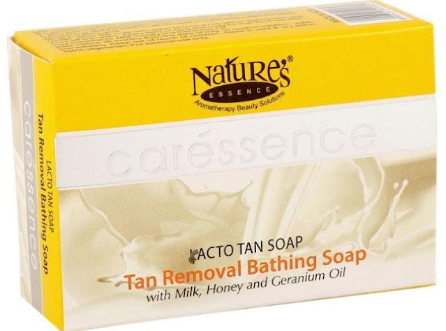 Nature's Essence Caressence Lacto Tan Soap