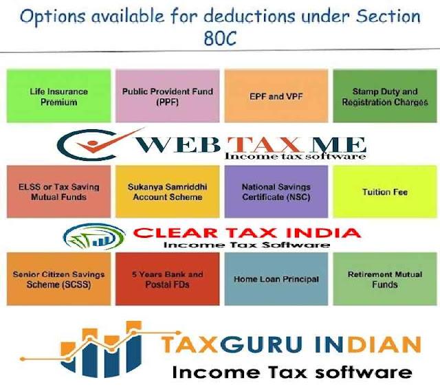 Tax Exemption U/s 80C