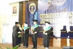 Khutbah Wada' Ke-3 ; Prestasi SMP Mutual Mulai Menembus Kepercayaan Publik