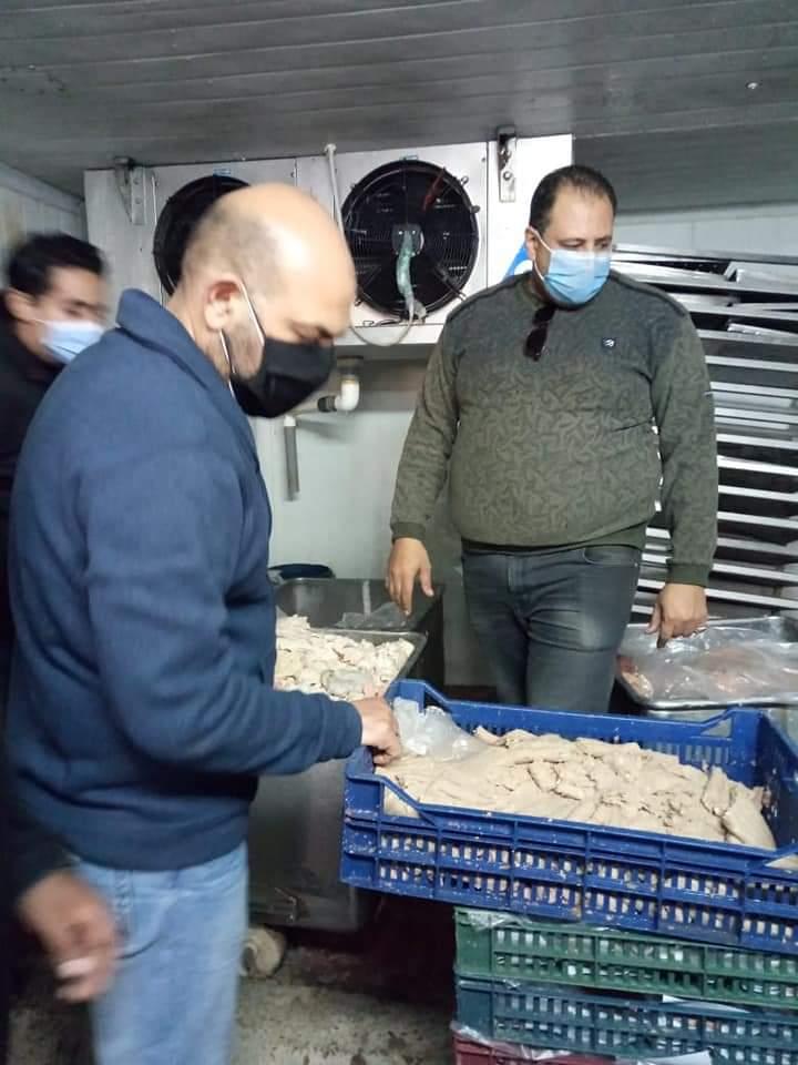 ضبط مصنع لحوم بالمنوفيه يقوم باستخدام دهون وخليط مفروم في صناعه الكفته والبورجر غير صالح للاستهلاك الادمي