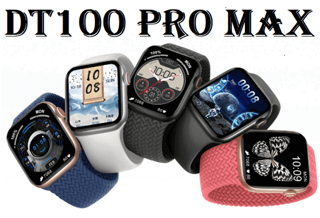 ساعة dt100 pro max