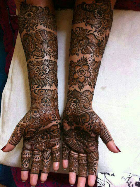 Bridal Designs for Full Hands 3