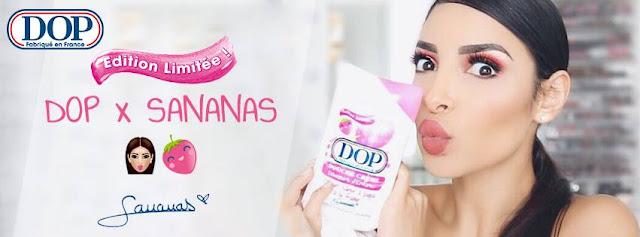 Douche Crème Douceurs d'Enfance Parfum Barbe à Papa à la Fraise de Sananas - DOP