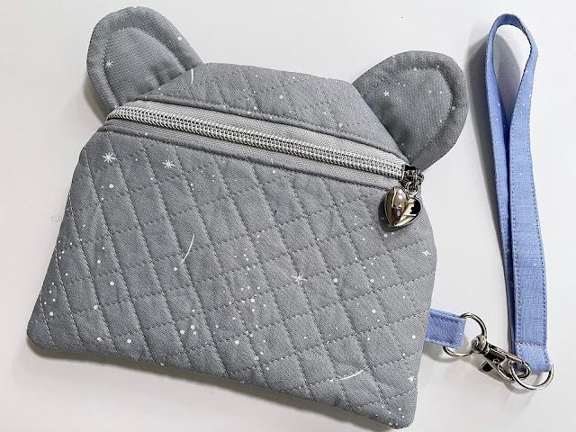 A Bit of Scrap Stuff Blog #ABitofScrapStuff #SewersClub #Handmadeclutch #Handmadebag #Bagmaker #Figofabrics