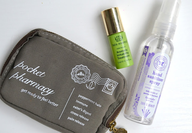 Travel Essentials Saje Tata Harper Honest Company