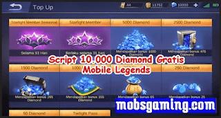 Script Diamond ML
