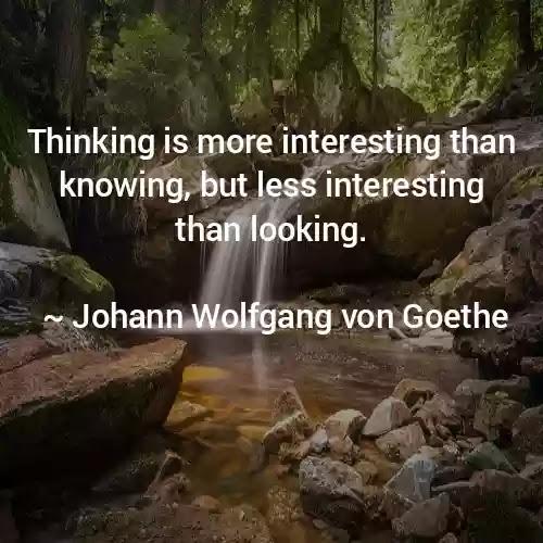 Johann Wolfgang Quotes