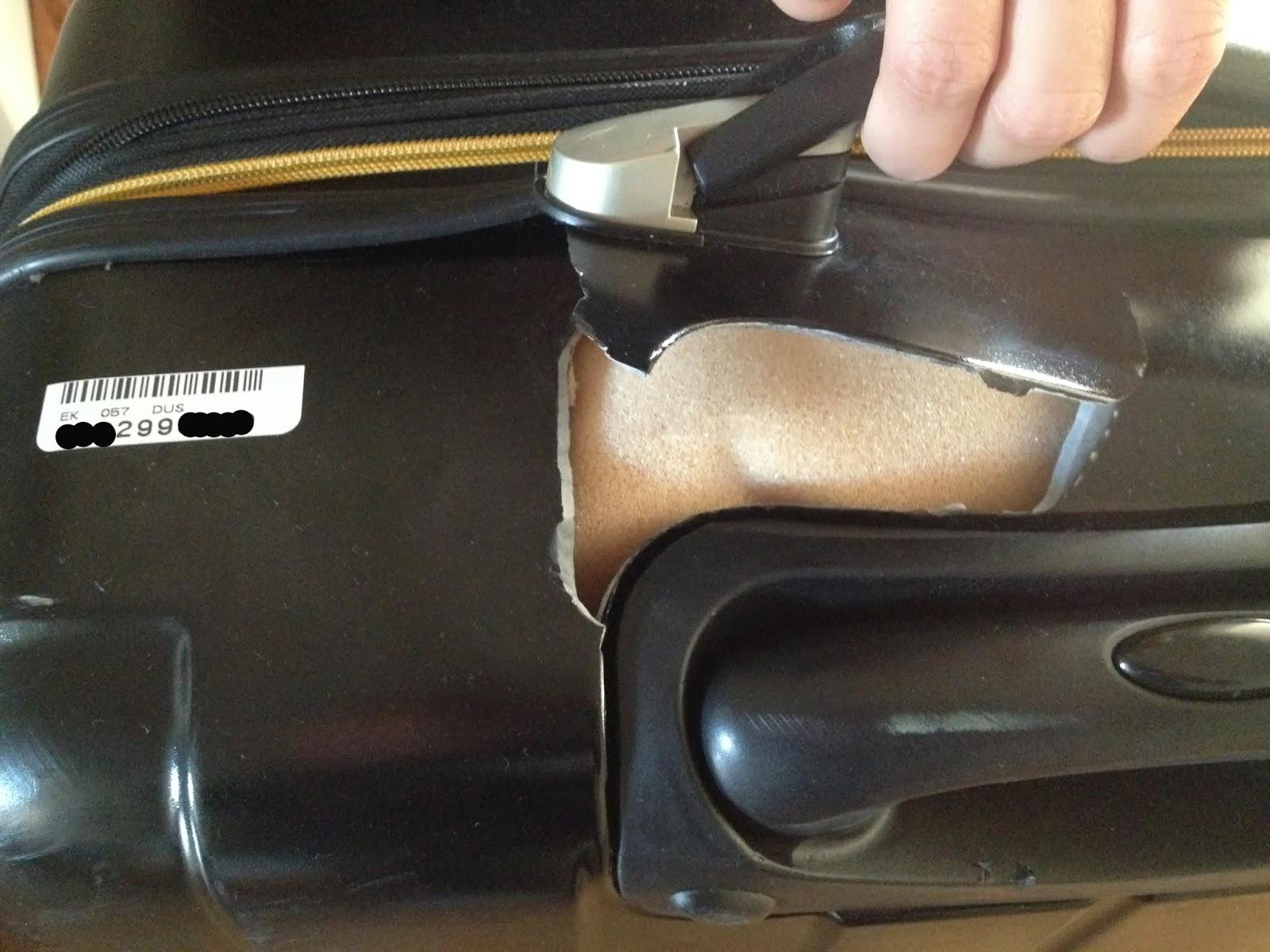 koffer verloren schadensersatz