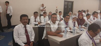 Dirreskrimum Polda Jambi Ikuti Rakoor Tim Pencegahan dan Pemberantasan Mafia Tanah 2019