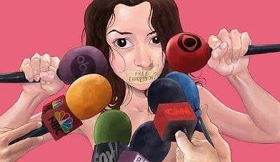 Free expression, tapi dikontrol oleh media