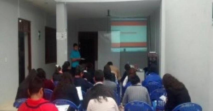 DRE Amazonas y ESSALUD organizan charlas sobre Proyecto de vida y Alimentación saludable