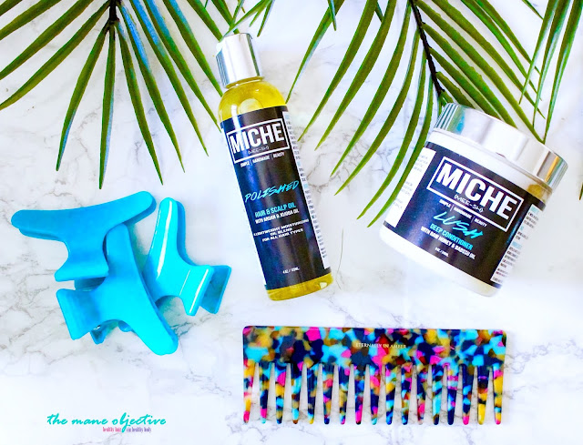 Review: Miche LUSH Deep Conditioner and POLISHED Hair & Scalp Oil