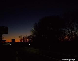 Bad Laer bei Nacht