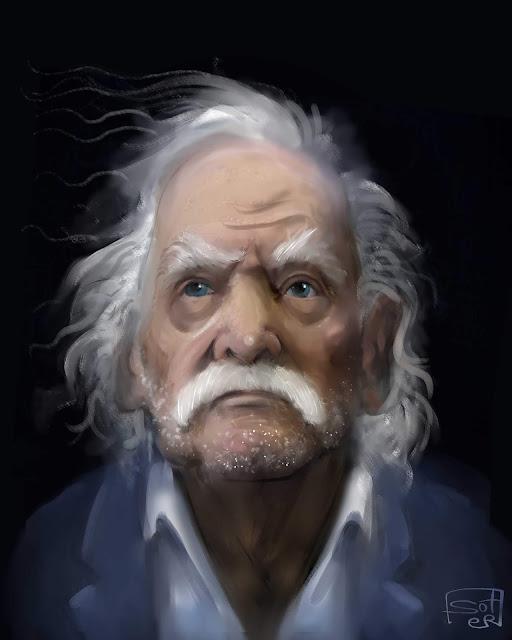 πορτρέτο - καρικατούρα Μανώλης Γκλέζος