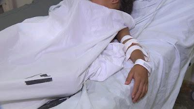Pai usa veneno para matar piolhos e filhos são levados para Hospital do Trauma