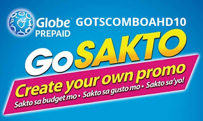 GOTSCOMBOAHD10 : 50 Texts to Globe/TM/ABS-CBN/Cherry + Free Facebook for 7 Days