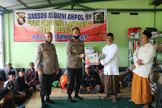 Keluarga Besar lumni Akpol Angkatan 89 Batalyon Dharana Lastarya Datangi Panti Asuhan Al Haq di Kalimantan Barat