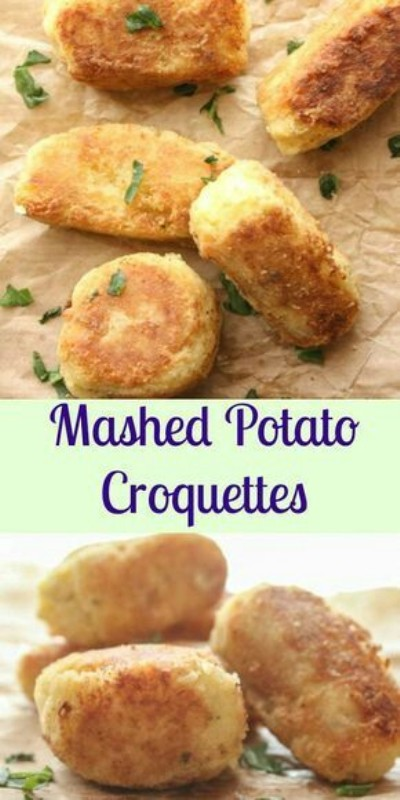 Mashed Potato Croquettes. Foto: anitalianinmykitchen.com