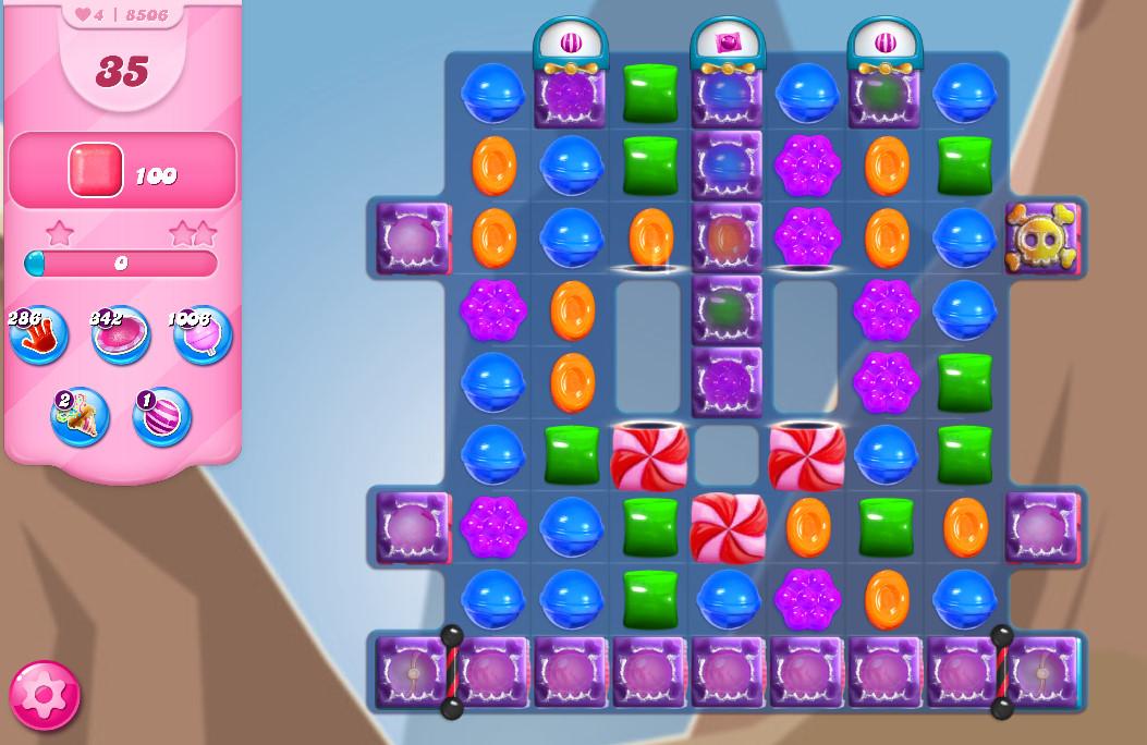 Candy Crush Saga level 8506