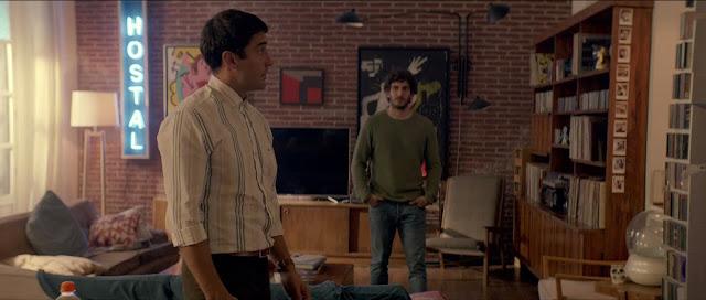 Alex García y Quim Gutiérrez en Litus (2019)
