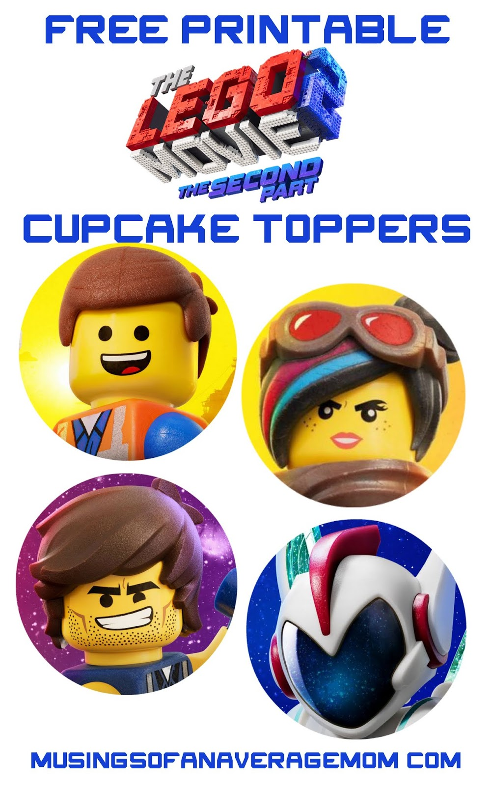 picture about Batman Cupcake Toppers Printable identified as Free of charge printable Lego Batman cupcake toppers Lego inside 2019