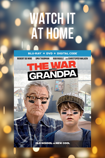 The War With Grandpa Bluray DVD Family Movie