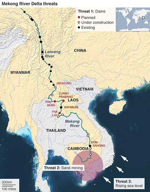 Đồng Bằng Sông Cửu Long tứ bề thọ địch
