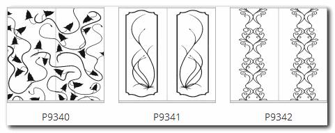 узоры на раздвижных дверях