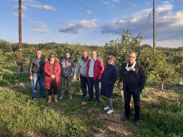 Για την Βιολογική Γεωργία ενημερώθηκαν οι σπουδαστών του ΔΙΕΚ Άργους