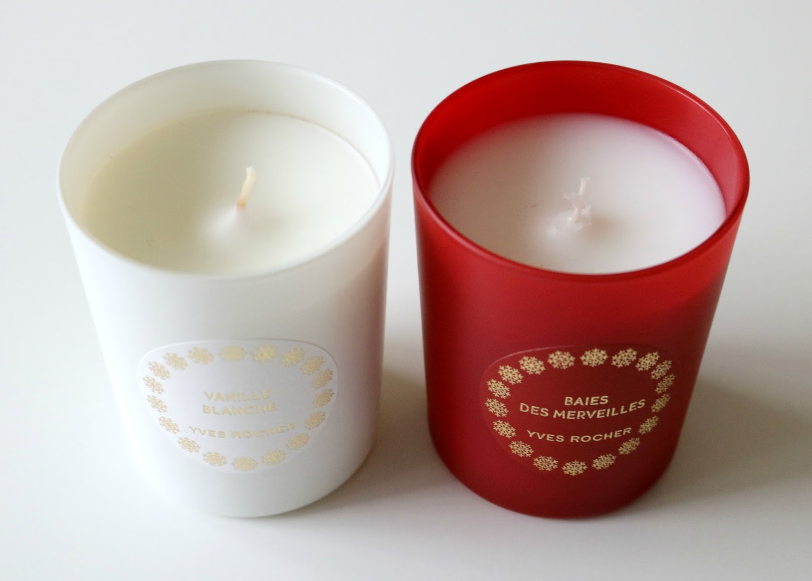 Yves Rocher Candles