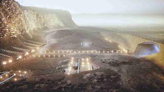 NÜWA city On Mars