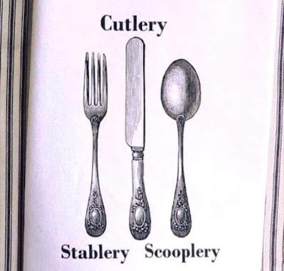 Cutlery Stablery Scooplery