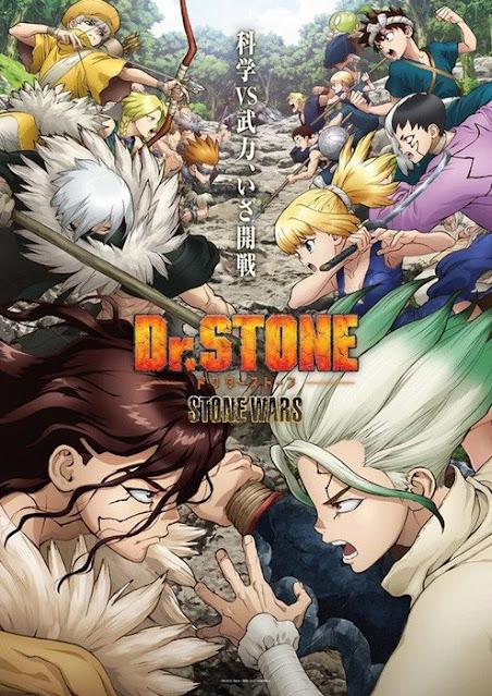La segunda temporada de Dr. Stone anuncia tres nuevas voces.
