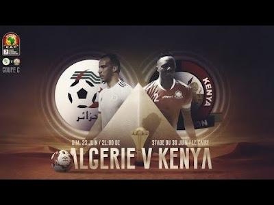 مشاهدة مباراة الجزائر وكينيا بث مباشر اليوم 23-6-2019 في كاس امم افريقيا 2019