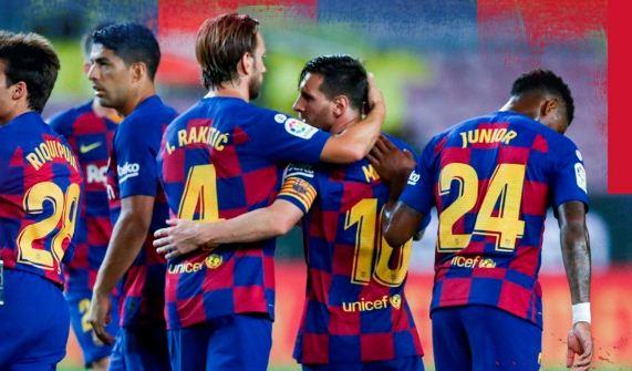 Barcelona vs Osasuna 1–2 Highlights