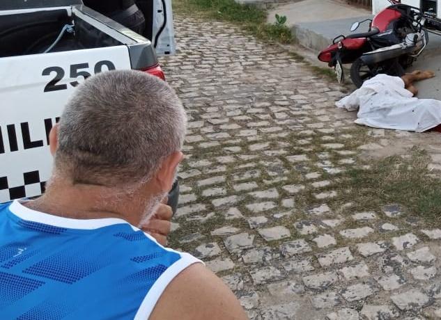 Jovem é executado em via pública no bairro Pousada das Thermas em Mossoró, RN