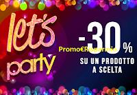 Logo Pittarello ''Let's Party'': -30% di sconto su un prodotto a scelta