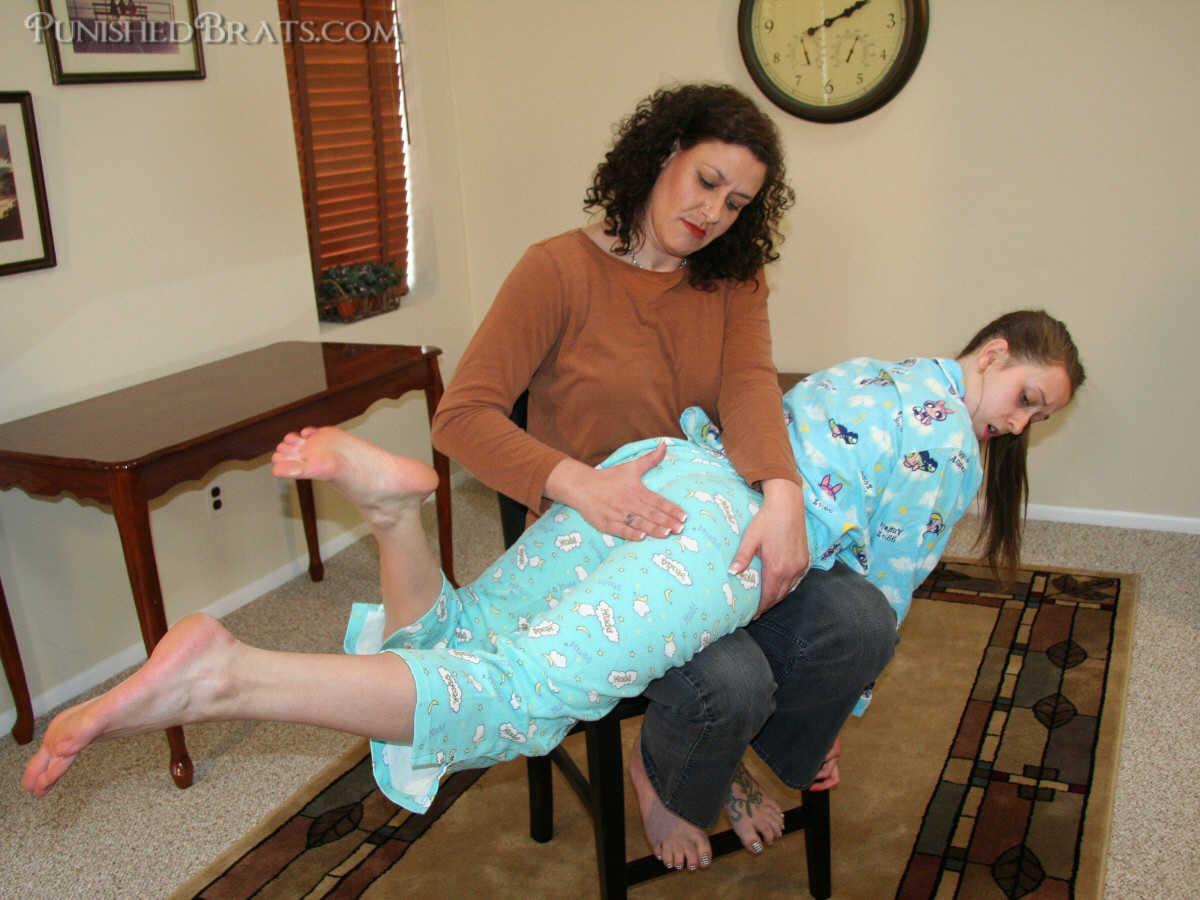 bedtime spanking
