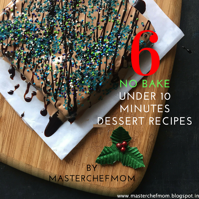 6 No Bake Dessert Recipes