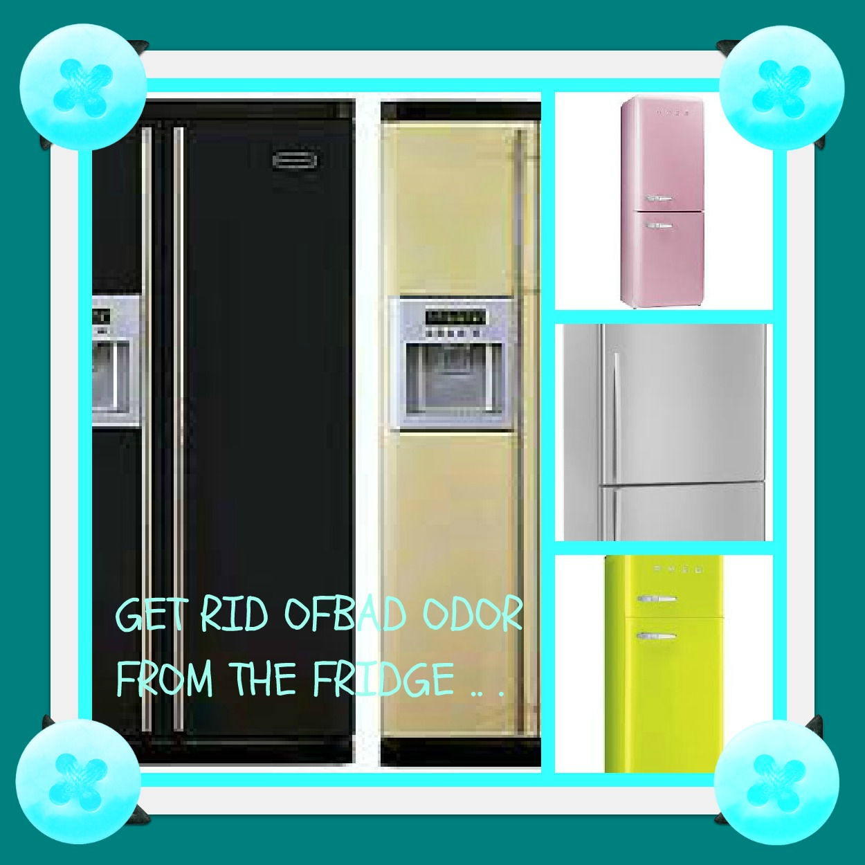 USHA'S KITCHEN: How 2 Get Rid Of Bad Smells In Your Fridge
