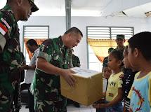 Pangdam XIII/Merdeka Kunjungi Posad Miangas