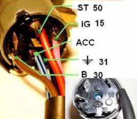 كيف يتم توصيل مفتاح التشغيل في السيارة