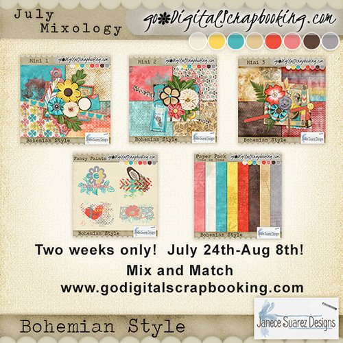 Bohemiam Style with Janece Suaez Designs