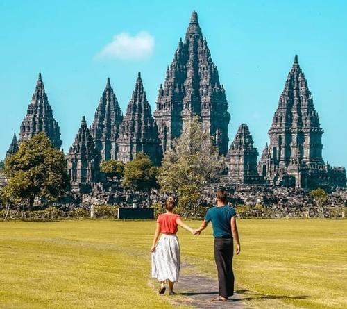 Obyek Wisata Candi Prambanan di Jogja