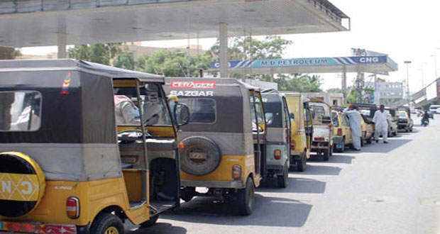 CNG Stations Opens After the 4-day Closure :KARACHI