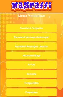 Download Aplikasi Masraffi ~ Akuntansi dan Teknologi Termudah